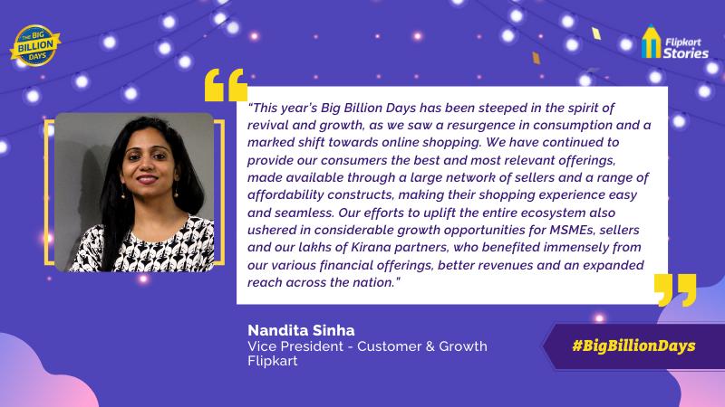The Big Billion Days Oct 10 Nandita Sinha