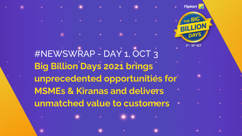 The Big Billion Days 2021 News Wrap 2021
