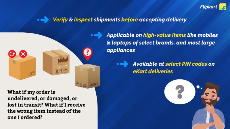 Flipkart Open Box Delivery - Prevent Fraud