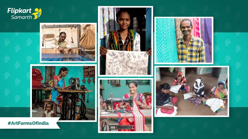 #ArtFormsOfIndia: From Warli to Maheshwari, witness the heritage-rich work of Tribes India artisans